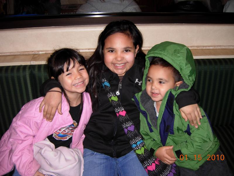 Jazzy, Jordan, and Elias in Oklahoma City, Jan 2010