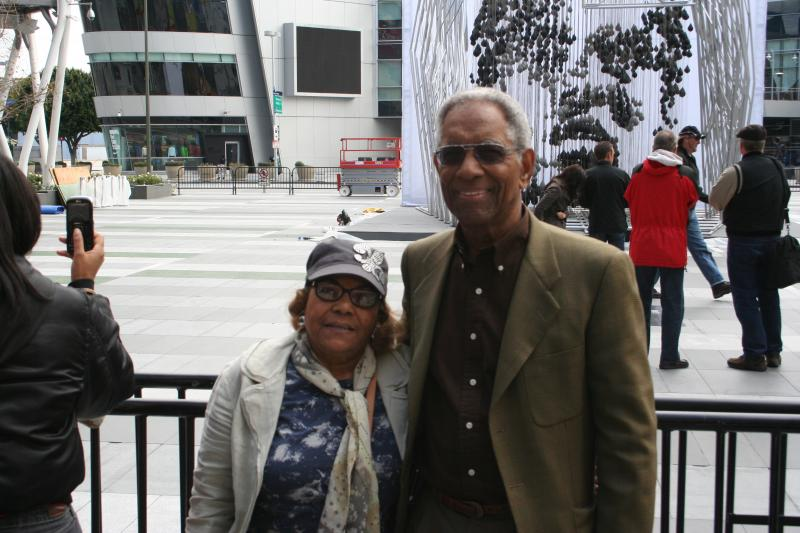 Robert and Odessa Brooks at LA Live! 3-24-2011